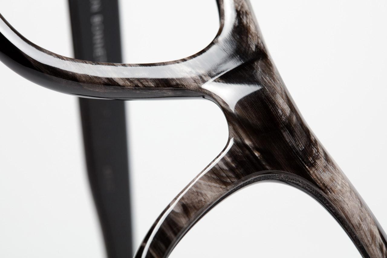 Colbert frame in buffalo horn