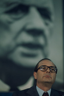 Jacques Chirac, French president