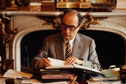 François Mitterrand, French President