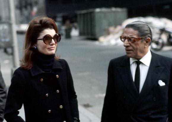 Jackie et Aristote Onassis,